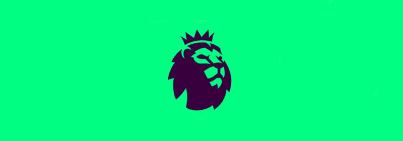 the premier league lion logo